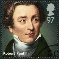 UNITED KINGDOM - 2014: shows Sir Robert Peel (1788-1850)