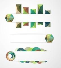 Композиции из треугольников