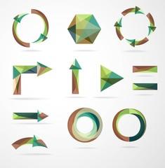Набор геометрических элементов
