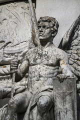 statue of the garden of Afonso de Albuquerque