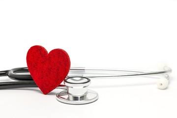 Herzgesund - Stethoskop
