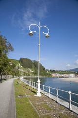 seafront through Ribadesella