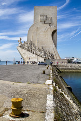 Monument to the Discoveries, located in Lisbon