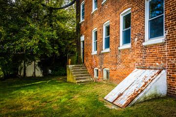 Abandoned building in Bairs, Pennsylvania.