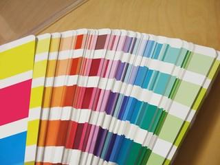 Farbfächer Farbskala Farben Bunt