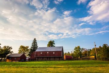 Barn on a farm in rural Adams County, Pennsylvania.