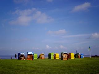 北海の籠椅子