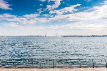 View of Yokohama bay