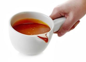 melted caramel bowl