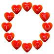 ������, ������: Astrology Signs Hearts