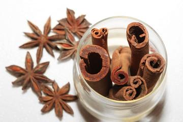 anice and cinnamon