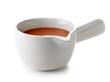 bowl of melted caramel sauce