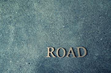 roadの文字