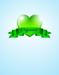 Love Organic Background