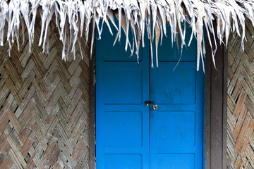 Blue door-Lonnoc Beach-Vanuatu