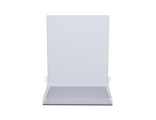 Simple blank marketing display