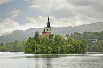 Church of the Assumption of the Virgin Mary on the Lake Bled