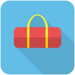 Sports bag icon