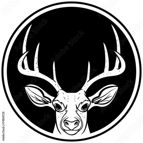 Deer Head Icon - 74804728
