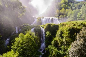 Vista sulo slato della cascata