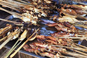 Squid BBQ
