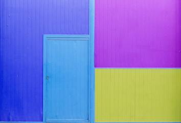Puerta 4 colores