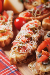 Italian pizza sandwich