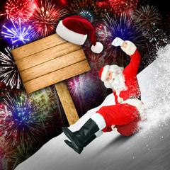Werbung für Weihnachten