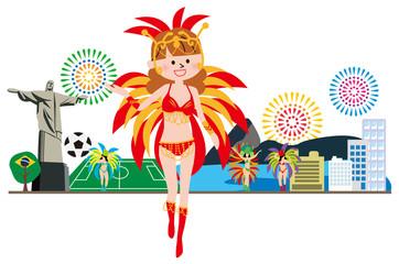 ブラジル カーニバル