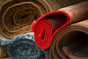 rugs in rug store