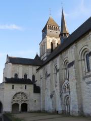 Maine et Loire - Fontevraud -Nord de l'Abbatiale