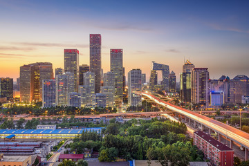 Beijing, China City Skyline