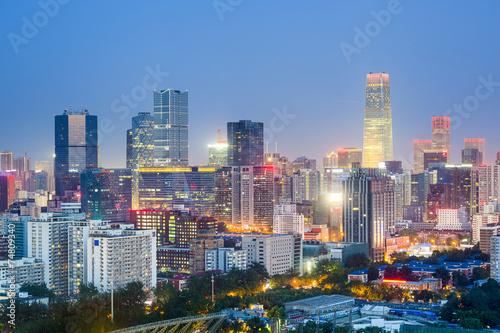 Foto op Aluminium Beijing Beijing, China Cityscape
