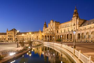 Spanish Square of Seville, Spain