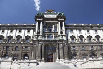 Hofburg,Vienna, Austria.