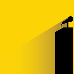 podium microphone