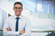 Businessman in eyeglasses
