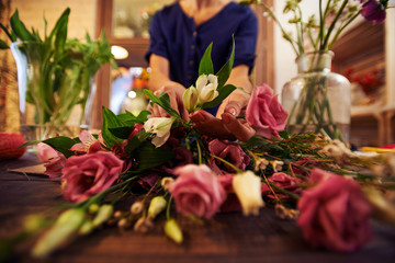 Sorting out flowers