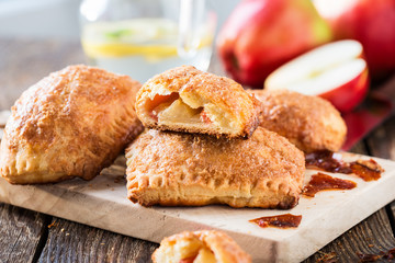 Mini apple cinnamon strudel