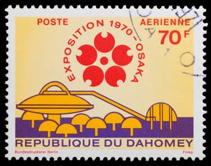 Dahomey pavilion