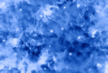 abstract blue bacground from triangles