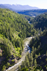 Moyie River Gorge North Idaho