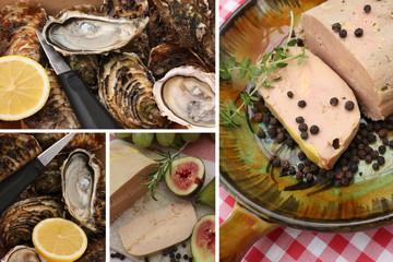 Foie Gras - Huîtres - Gastronomie  Française