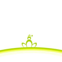 osterhase hügel grün