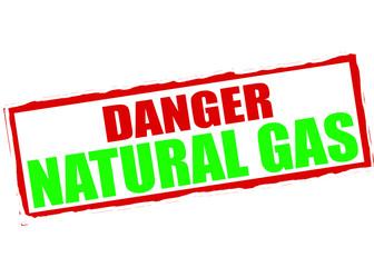 Danger natural gas