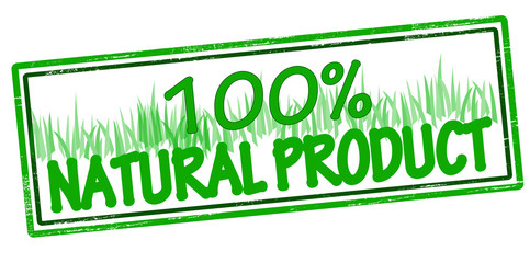 One hundred percent natural product