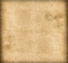 Dirty old canvas paper background