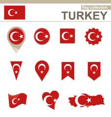 Turkey Flag Collection