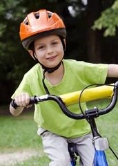 Child cyclict cycling