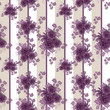 Abstract elegance seamless pattern with roses flowers background
